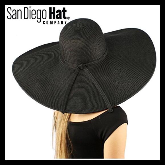 San Diego Hat Company X Large Brim Floppy Hat 7ad108c4e587